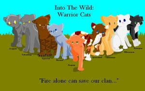 Into The Wild Warrior Cats by StarpathTheHealer