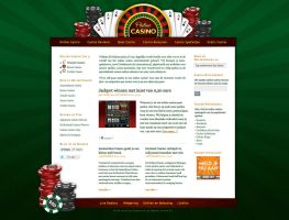 Casino Website Design by thenew87