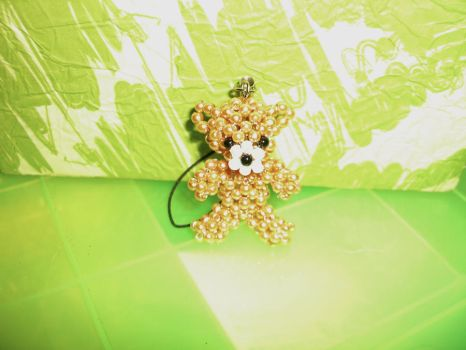Bear Pearl Beads by Tamiake