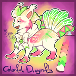 Colorful Dragonfly Fantsuneko - Auction CLOSED by StanHoneyThief