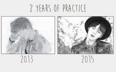 2 years of practice by hunniecreeper