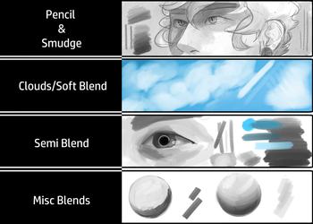 Sai brushes 01 by ElectroSlime