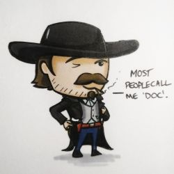 Doc Holliday by Iddstar