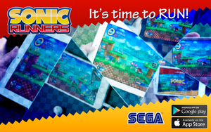Sonic Runners - Banner [FAN MADE] by NathanLaurindo