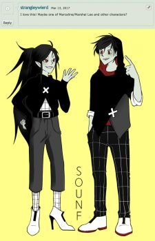 Marshallee and Marceline by sounf