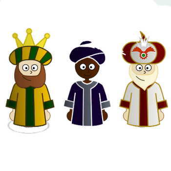 Reyes Magos PNG by SugusEditions