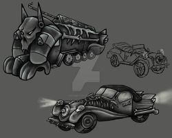 1940's Death Themed by yurixmeister