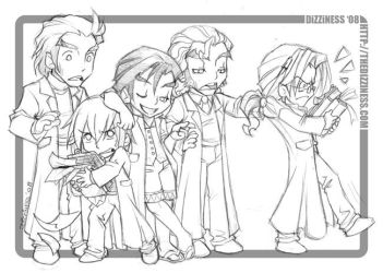 KHII: LOLOL Apprentices by dizziness