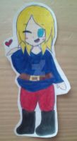 France Chibi (Hetalia) by PandaOwO12