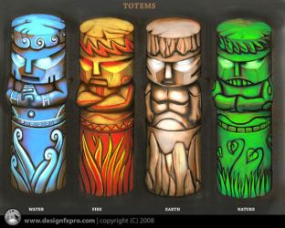 Totems by designfxpro