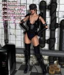 BlackScorpion Cosplay costume for V4 by Terrymcg