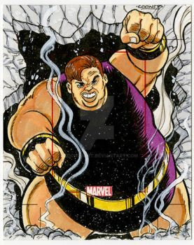 Blob Sketch Card by dcooneyart