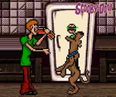 Shaggy and Scooby Doo by BeeWinter55