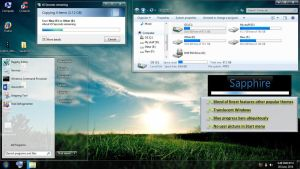 Sapphire Theme for Windows 7 by sash-in