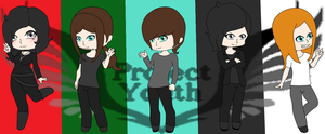 Project Youth Band  by PinkHeather26