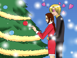 +Gift+ Decorating Christmas tree by KarenNuilCoco