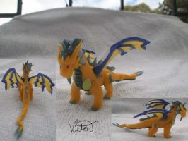 Eletric Dragon volteer by VictorCustomizer