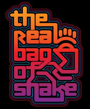 Real bag of Shake typography by gomedia