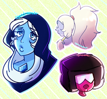 Steven Universe Doodles by cyandreamer