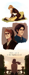 star wars rule 63 AU - attack of the clones by shorelle