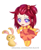 Chibi Hitomi [OC] - Commission by Alix89