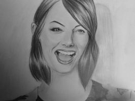 Emma Stone by Drawmeareve