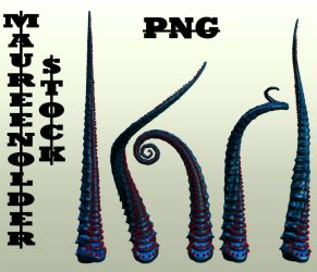 STOCK PNG tentacles by MaureenOlder