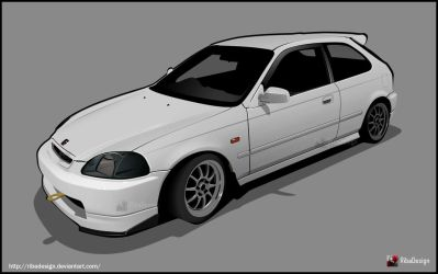 Civic EK9 by RibaDesign