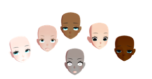 FaceTextures Pack1 DL** by xMoMoMiu