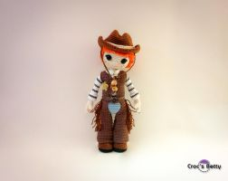 Clint the Cowboy by Crocsbetty
