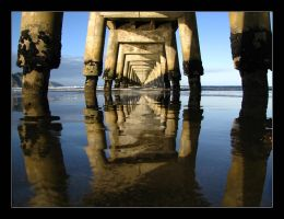 Receding Reflections by LiquidLightNZ