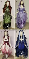 Four Elements Dresses by Firefly-Path