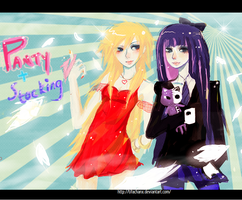 +Panty And Stocking+ PSG by tifachanx