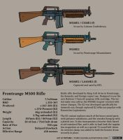 Frontrange M500 Rifle by Pyrosity
