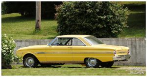 A Mellow Yellow Ford Falcon by TheMan268