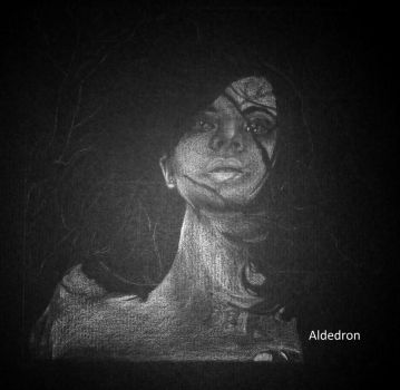 Woman of the Night WIP 2 by Aldedron