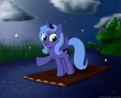 Luna's raft by rule1of1coldfire