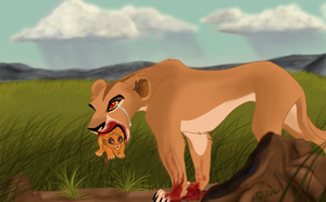 Zira's Regret by Sel-Ray