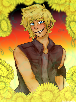 Prompto Painting Practice by paopufloats
