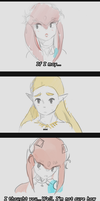 {SPOILER} TLOZ BOTW . IF CHARACTERS HAD THE CHANCE by Maathy