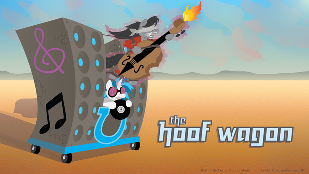 The Hoof Wagon (Mad Little Pony: Fury is Magic) by ChromaCurves