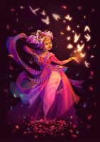 Character Design Challenge - Indian Dancer by LiberLibelula