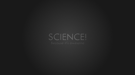 Science! (Widescreen Wallpaper) by SocratesJedi