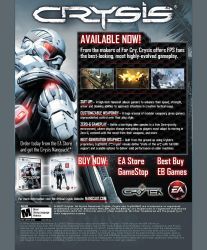Crysis launch email by scott-baumann