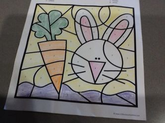 an Easter colour by numbers by sailorcancer01