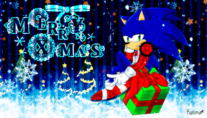 Merry Christmas From Sonic by KonKonna