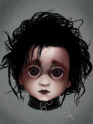 Edward Scissorhands (BITTY BADDIES) by jodyparmann