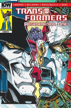TF Regeneration One #84 retro cover - October 2012 by GuidoGuidi