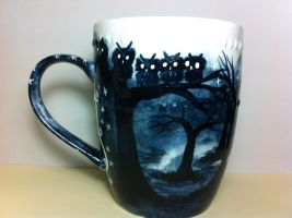 The dark trail mug for sale! by InkyDreamz