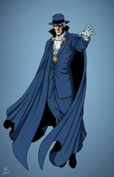 Phantom Stranger (Earth-27) commission by phil-cho